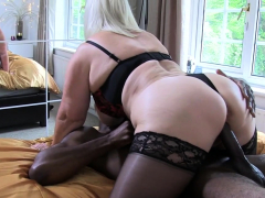 lacey star gets nailed hard by a black guy