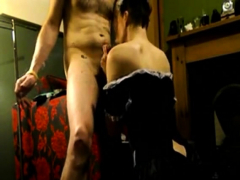 british maid gets punished and penetrated