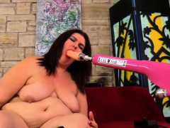 big danni dawson drilled by a machine