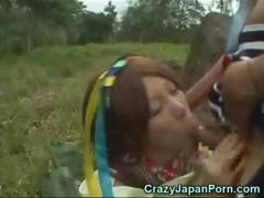 Japanese In A Papuan Tribe!