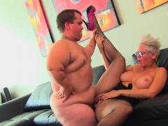 midgets cockriding slut likes it rough