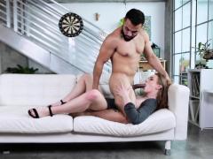 Blonde Teen Daisy Stone Fucked Sideways Porn Video