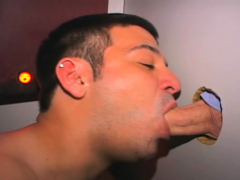 Francisco loves sucking big cocks at the local gloryhole