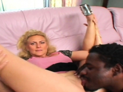 Black Dick Destroys Her Small Pussy
