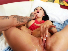 Adorable bitch Crystal Rae is fucked for hours
