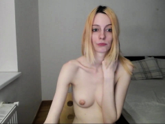 Teen Blonde With Small Boobs Getting Banged