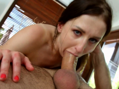 Emily Ross Gets Her Holes Filled Up With Jizz Of Creampie