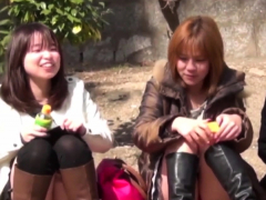Japanese babes panties