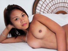 Wang enters naughty eastern babe Laiza's juicy cooter