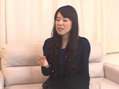 Delightsome japanese slut gives it all sucking hard dick