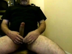 silver-daddy-bear-jacking-his-hard-cock