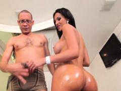 Latina sheshaft enjoy good fuck