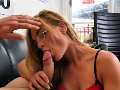 Lusty Brunette Teen Jenny Jett Cums While Riding