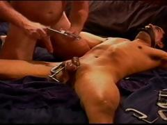 Cbt Young, Hung, Latino Bottom Boy Is Restrained And His