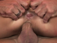 Brandy takes care of his cock