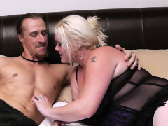 dude pleases plump blonde neighbor