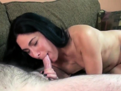 Petite brunette housewife Cleo Leroux is getting her mature