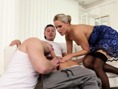 Blonde milf wants to take a young meat