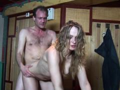 Horny sweaty tourist fucks a hooker