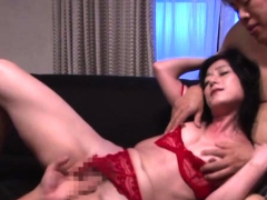 Oriental wet crack licked and drilled