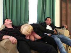 two-buddy-pick-up-busty-old-mature-blonde