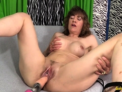 Fucking Machine Rails Mature Babe Morgan