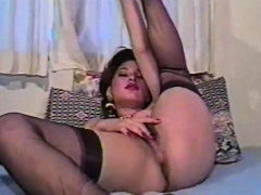 Brunettes cunt is made to be pounded hard