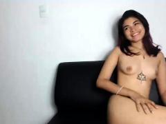 asian lesbian strippers masturbate through panties