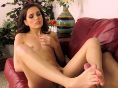 brooke is a horny brunette who is crazy about sucking a