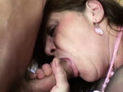 big-tits-office-granny-in-stockings-takes-double-penetration