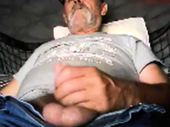 older-gentleman-shooting-his-load