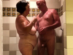 playing-in-the-shower