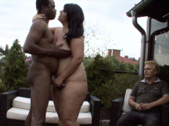 cuckold-watch-while-black-guy-fuck-his-fat-bbw-wife-outdoor