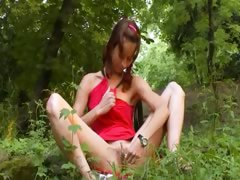 Natasha Forest Girl From Slovakia