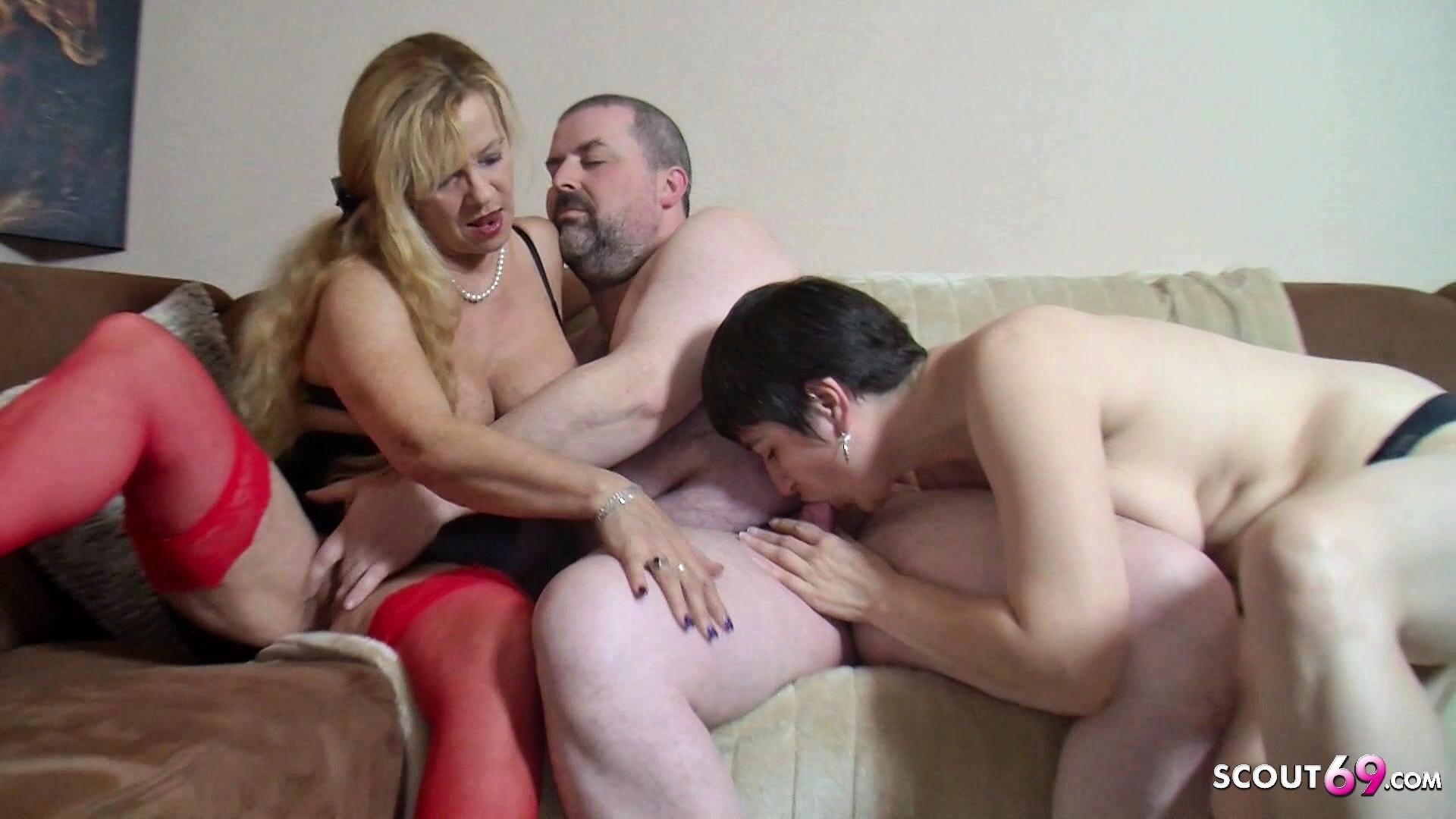 Ebony Big Tits Threesome