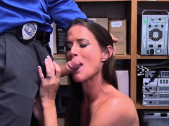 Hot sporty MILF Sofie Marie gets fucked in a mall