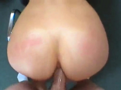 Lusty redhead maid Regan fucked for hours