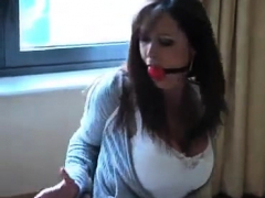 Bdsm Milf Penalized Tied Up And Dildo Fucked