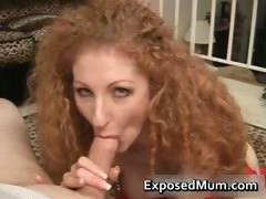 Curly Milf Fills Her Mouth With Stiff Part3