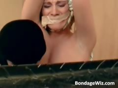 Bondage Sex Session With Some Blonde Part1