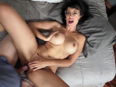 hot-brunette-stepmom-taboo-fuck-with-lucky-stepson