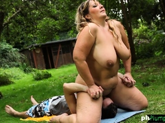 Bbw Grinds All Over Her Subs Face