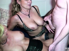 german-mom-and-aunt-teach-young-guy-how-to-fuck-in-3some