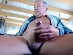 grandpa-cum-on-cam