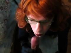 Cum Craving Crossdresser gets her reward