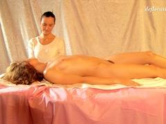 Hot Virgin Teen Massaged
