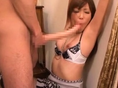 Classy cougar Yuuno Hoshi gets banged from behind