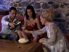 guy-finds-his-older-mom-and-teen-gf-lesbian-action