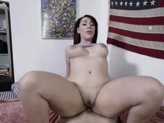 thicc-busty-latin-stepsis-sucks-and-rides-stepbros-big-cock