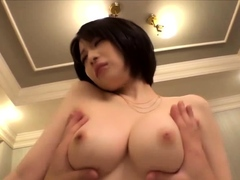 SHORT HAIRED GIRL WITH BIG TITS